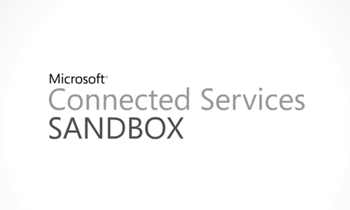 Microsoft Connected Services Sandbox Video
