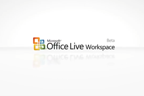 Microsoft Office Live Workspace Beta Identity Bumper