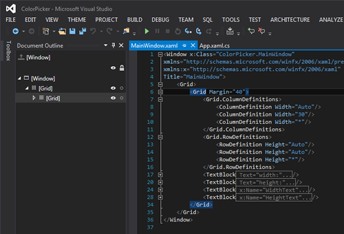 Microsoft Visual Studio Themes