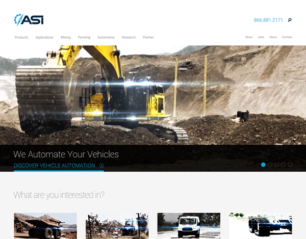 ASI Website Design