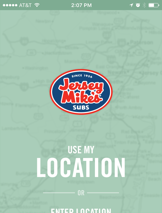 Jersey Mike's Mobile App
